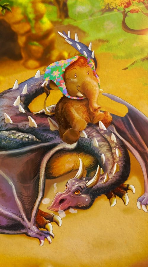 Mr Dragon et Mammoutharde