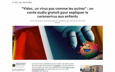 Article sur FranceTV info