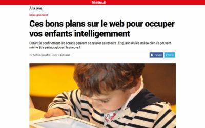 Article dans Le Journal de Montreuil