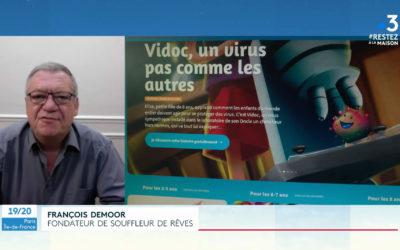 Interview sur France 3 Ile de France