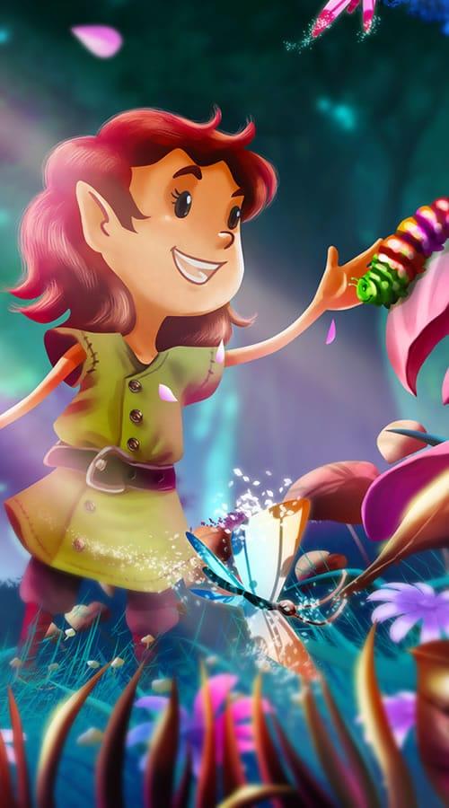 Aerin la petite elfe