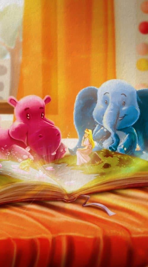 Le livre de contes des doudous