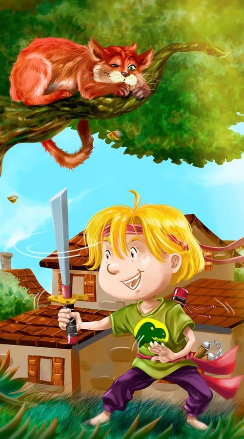 Oscar Eloi l'apprenti ninja
